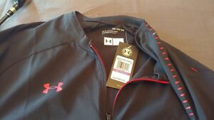 4 Under Armour Cage Jackets Short Sleeved 14 Zip 4 different colors XXL