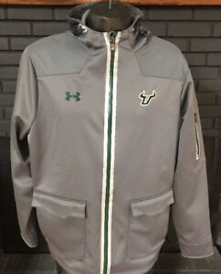 Under Armour Jacket Coldgear Loose Fit USF Gray Men's XL