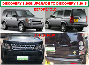 LAND ROVER DISCOVERY 3 UPGRADE TO DISCOVERY 4 STYLE BODY KITS