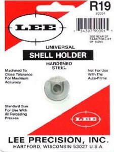 LEE 90004 Lee Precision R19 Shell Holder 9MM 38ACP 38 Super 40 S