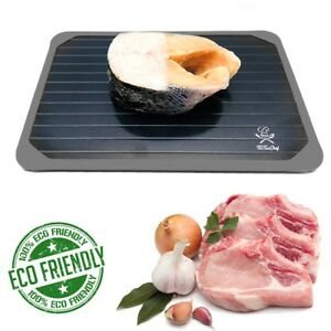 TicTacChef Rapid Defrosting Tray Thaws Fast Meat and Frozen Food Quick