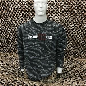 NEW HK Army OG Series DryFit Long Sleeve T-Shirt - Tiger Urban Camo - Small