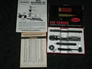 Classic Vintage Lee Loader .45 ACP Auto Hand Reloading Complete Die Set