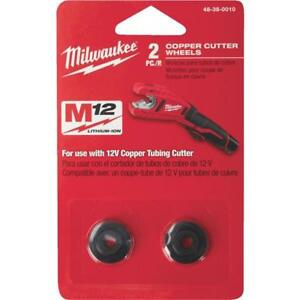 Milwaukee Best High Performance Copper Tubing Replacement Cutter Wheel 2 Pack