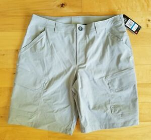UNDER ARMOUR STORM HUNT FISHING GOLF SHORTS CARGO STYLE 36 MEN'S GRAY NWT