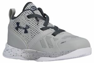 Under Armour Curry 2 Boys' Toddler AluminumWhiteStealth Grey 6153-052