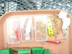 LOT OF 7 PING A T LURE3 IN ORIG BOXGREAT STEELHEADSALMONSEMI-RARE HOT COLORS