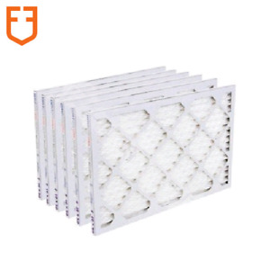 Filters Fast 20x20x1 HVAC Home Air Filters Merv 8 Case of 6 Filters