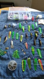 Lot Of 100 + Fishing Lures