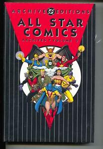 All Star Comics Archives Vol 3 Golden Age Color Reprints Hardcover