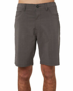 New Rip Curl Men's Access Twill 19 Mens Hybrid Short Quick-Dry Fitted Black