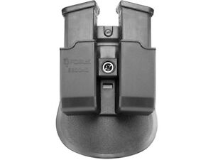 Fobus Evolution Pouch Double Mag Roto Belt Holster H&K USP Black Ambi 6900NDRB