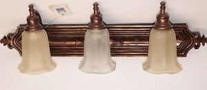 Murray Feiss VS9803 FG WAL 3 Light Vanity Strip Bronze Anique look