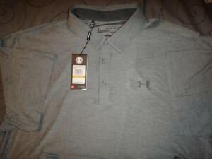 UNDER ARMOUR GOLF POLO SHIRT SIZE 4XL MEN NWT $64.99