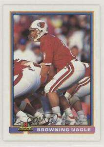 1991 Bowman Browning Nagle #376 Rookie $2.83