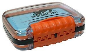 Double Sided Fly Fishing Fly Box Silicone insert Waterproof amp; Compact $12.99