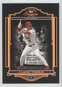 2004 Donruss Timeless Treasures Bronze #1 Albert Pujols St. Louis Cardinals Card