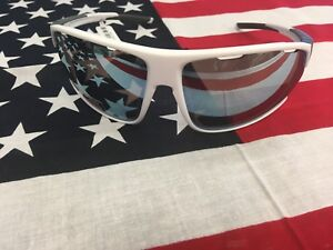 NIB Under Armour Strive Sunglasses Color Satin White Baseball Tuned