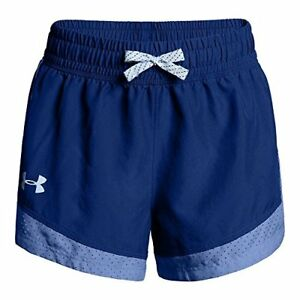 Under Armour Girls' Sprint Shorts Formation Blue (574)Oxford Blue