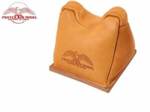 Protektor Model #7A Leather Standard Front Shooting Rest Bag Heavy Bottom