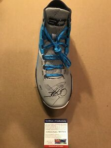 Steph Curry Signed Under Armour Curry Shoe PSA DNA Coa Warriors MVP