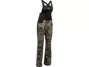 Under Armour Womens UA Stealth Scent Control Bibs Realtree Size S L Camo 1282692