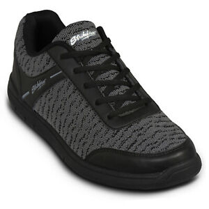 KR Strikeforce Flyer Mesh BlackSteel Mens Bowling Shoes