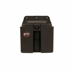Fobus 9mm Double Magazine Belt Pouch SoloNANOLC9P239 6911NDBH