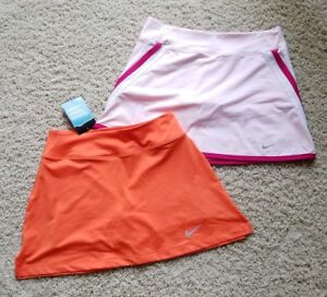Lot of 2 Girl's Nike Dri-Fit Tennis Running Yoga SkirtSkortShorts Size XL NWT