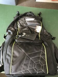 SpiderWire Fishing Backpack travel tackle utility box bag storage organizer