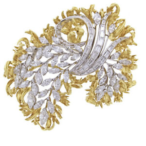 Van Cleef & Arpels Diamond Brooch