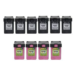 4PK Color 6PK Black Compatible with HP 65XL Ink N9K03AN N9K04AN for Deskjet 2655