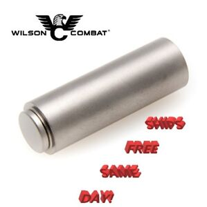 Wilson Combat 1911 Recoil Spring Plug, Flat Cap, Bullet Proof, Stainless  # 565