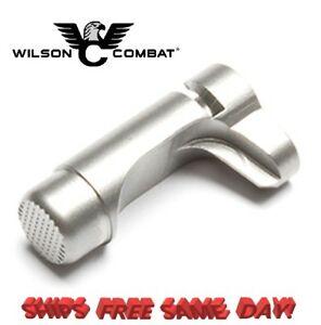 Wilson Combat 1911 Magazine Release, Concealment, Bullet Proof, Stainless # 673S