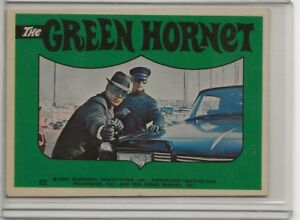 The Green Hornet #22 - 1966 Greenway Productions Sticker BRUCE LEE-Kato EX-MT