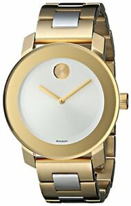 Movado Women's 3600129 Bold Two-Tone Bracelet Watch
