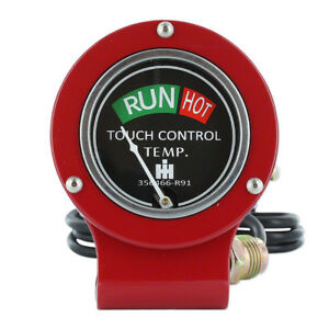 356466R91 New Touch Control Temperature Gauge Made to fit Case-IH Tractor Models