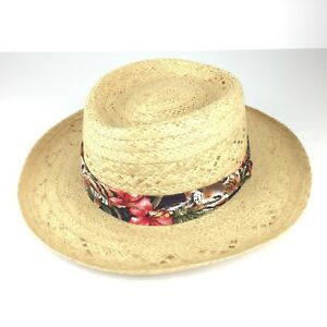 Biltmore LXL Straw Hat Tropical