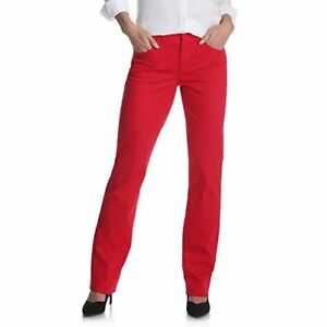 Riders by Lee Indigo Women's Classic-Fit Straight-Leg Jean Jalapeno Red