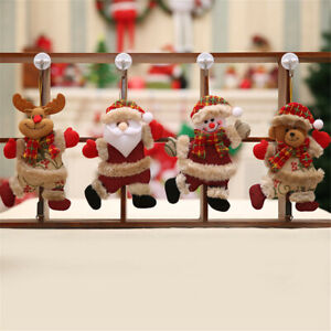 50Pcs DIY Craft Christmas Xmas Wood Chip Hanging Pendant Ornaments Decor Home US