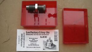 Lee Precision Reloading 308 Winchester Factory Crimp Die 90823