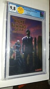 NIGHT OF THE LIVING DEAD BACK FROM THE GRAVE #NN GEORGE ROMERO CGC 9.8 HIGHEST