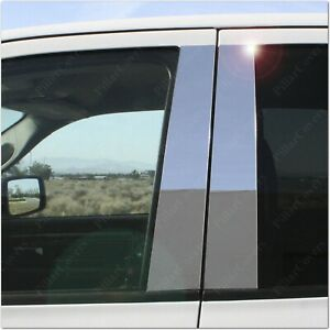 Chrome Pillar Posts for Cadillac Escalade 07-14 4pc Set Door Trim Cover Kit