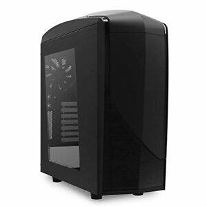 NZXT Phantom 240 No Power Supply ATX Mid Tower Computer Case (Matte Black)