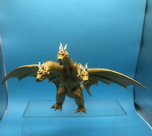 Godzilla Movie King of the Monster Ghidorah 3 Head Gold Dragon Toy Action Figure $22.99