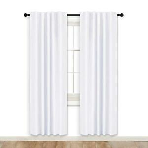 RYB HOME Room Darkening Curtains Window Shades Covering Privacy Protect Sunlight