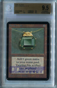 Mox Emerald (Alpha) - BGS GEM MINT 9.5 (w10 sub) MTG *CCGHouse* Magic