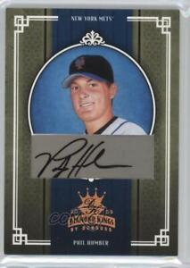 2005 Donruss Diamond Kings Bronze Signatures Autographed #446 Phil Humber Auto