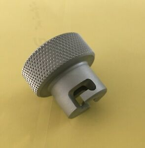 Knob for bottle jack valve release screw on Harbor Freight hydraulic press $16.25