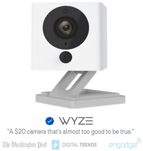 Wyze Cam v2 1080p HD Indoor WiFi Smart Home Security Camera Pet Cam Night Vi